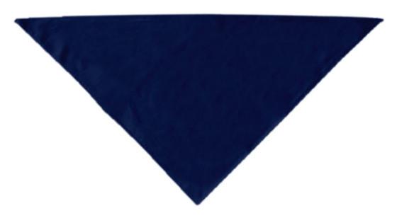 Plain Navy Blue dog bandana