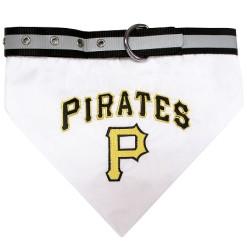 Pittsburgh Pirates MLB dog bandana and collar