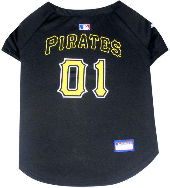 Pittsburgh Pirates MLB dog jersey back