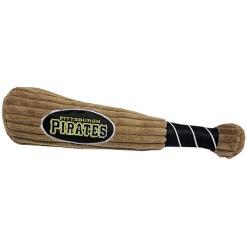 Pittsburgh Pirates MLB plush dog bat