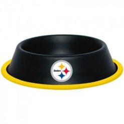 Pittsburgh Steelers NFL Stainless Dog Bowl