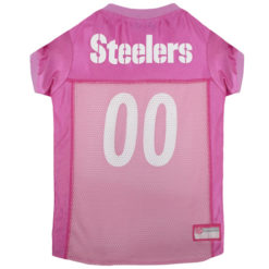 Pittsburgh Steelers Pink NFL Dog Jersey