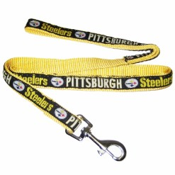 Pittsburgh Steelers nylon dog leash