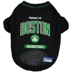 Property of Boston Celtics Basketball NBA Dog TShirt