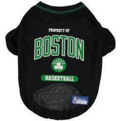 Property of Boston Celtics Basketball NBA Dog TShirt