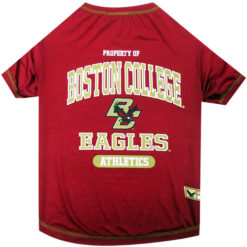Property of Boston College Eagles Athletics NCAA Dog TShirt