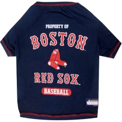 Property of Boston Red Sox dog jersey