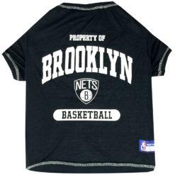 Property of Brooklyn Nets Basketball NBA Dog TShirt