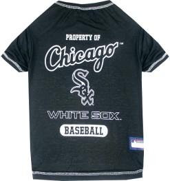 Property of Chicago White Sox baseball dog shirt