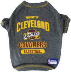 Property of Cleveland Cavaliers Basketball NBA Dog TShirt