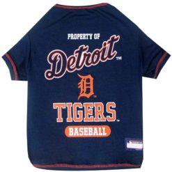 Property of Detroit Tigers Baseball Dog Shirt