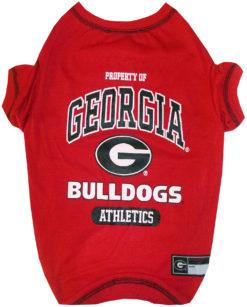 Property of Georgia Bulldogs Athletics NCAA Dog TShirt