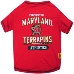 Property of Maryland Terrapins Athletics NCAA Dog TShirt