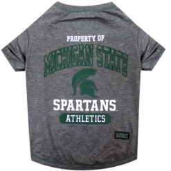 Property of Michigan State Spartans Athletics Dog TShirt