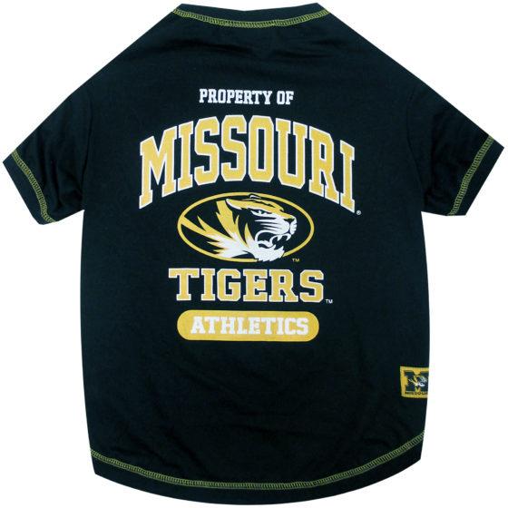 Property of Missouri Tigers Athletics NCAA Dog TShirt