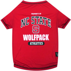 Property of NC State Wolfpack Athletics NCAA Dog TShirt