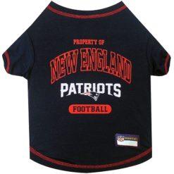 Property of New England Patriots Football Dog TShirt
