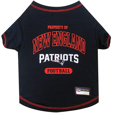 Property of New England Patriots Football Dog TShirt