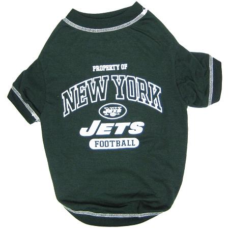Property of New York Jets Football Athletics Dog Shirt