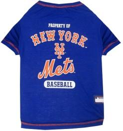Property of New York Mets Baseball MLB dog tee shirt