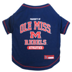 Property of Ole Miss Rebels Athletics NCAA Dog Shirt