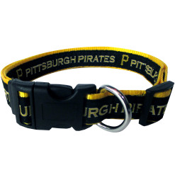 Property of Pittsburgh Pirates MLB nylon dog collar