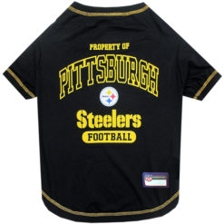 Property of Pittsburgh Steelers Football Dog TShirt