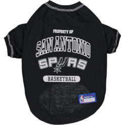 Property of San Antonio Spurs Dog Shirt front