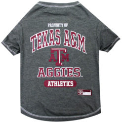 Property of Texas A&M Aggies Athletics NCAA Dog TShirt