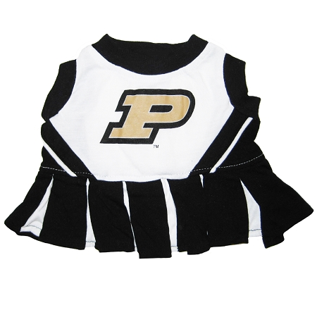 Purdue University Boilermakers NCAA dog cheerleader dress