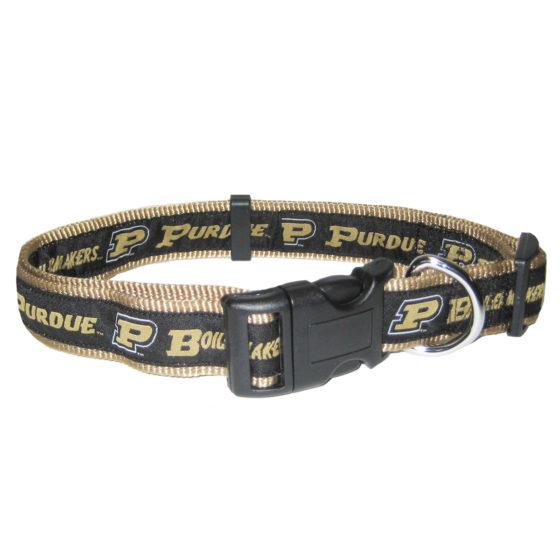 Purdue University Boilermakers NCAA nylon adjustable dog collar