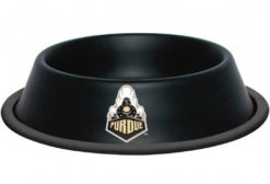 Purdue University Stainless Dog Bowl