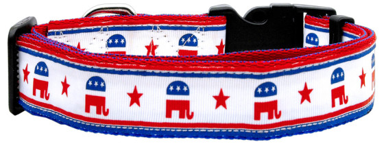 Republican Party and stars Dog Collar
