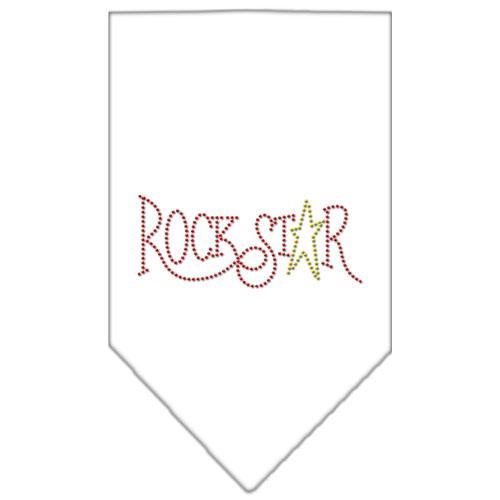 rockstar rhinestone dog bandana