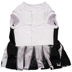 San Antonio Spurs Dog Cheerleader dress back