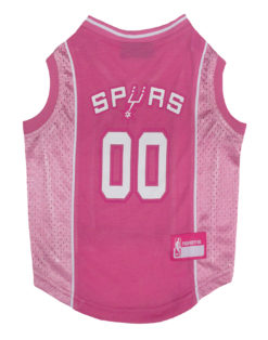 San Antonio Spurs Pink Dog Jersey