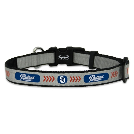 San Diego Padres reflective dog collar