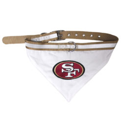 San Francisco 49ers Dog Bandana and Collar