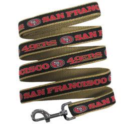 San Francisco 49ers Dog Nylon Leash