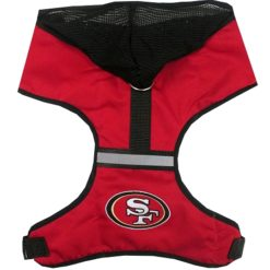 San Francisco 49ers NFL Mesh Dog Harness