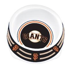 San Francisco Giants plastic dog bowl