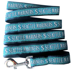 Seattle Mariners MLB nylon dog leash