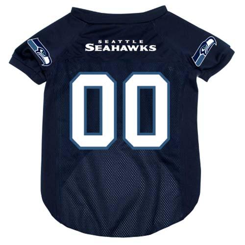 Seattle Seahawks NFL dog jersey alternate style