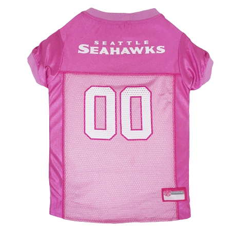Seattle Seahawks Pink NFL Dog Jersey