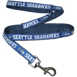Seattle Seahawks nylon dog leash