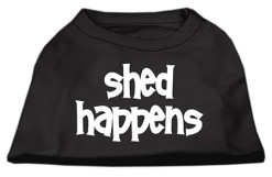 Shed Happens t-shirt sleeveless black
