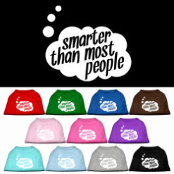 Smarter than most people thought bubble screen print sleeveless shirt colors