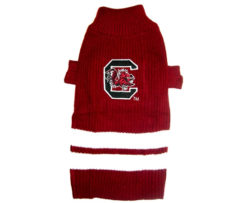 South Carolina Gamecocks NCAA Turtleneck Dog Sweater