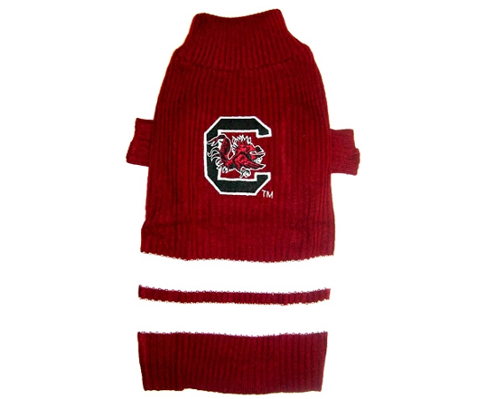 South Carolina Gamecocks NCAA Turtleneck Dog Sweater