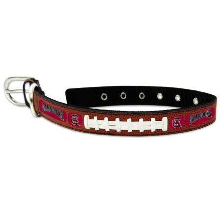 South Carolina Gamecocks NCAA leather dog collar large